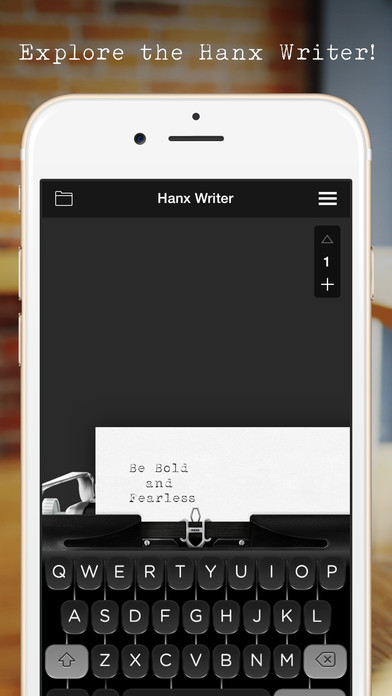 Hanx Writer Screenshot