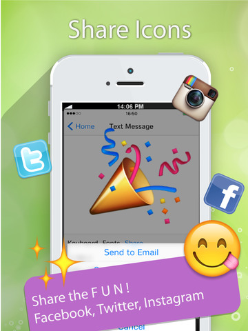 76907504fe2a Emoji 2 Emoticons Free + Photo Captions Collage - 300+ New Smiley Symbols    Icons for Messages   Emails