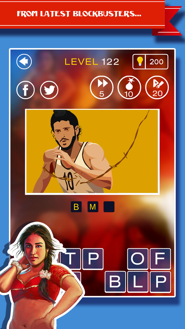 Guess The Bollywood Flick Screenshot on iOS