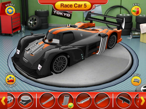 Cars 2 World Grand Prix Read and Race Screenshot