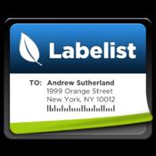 Labelist 標簽