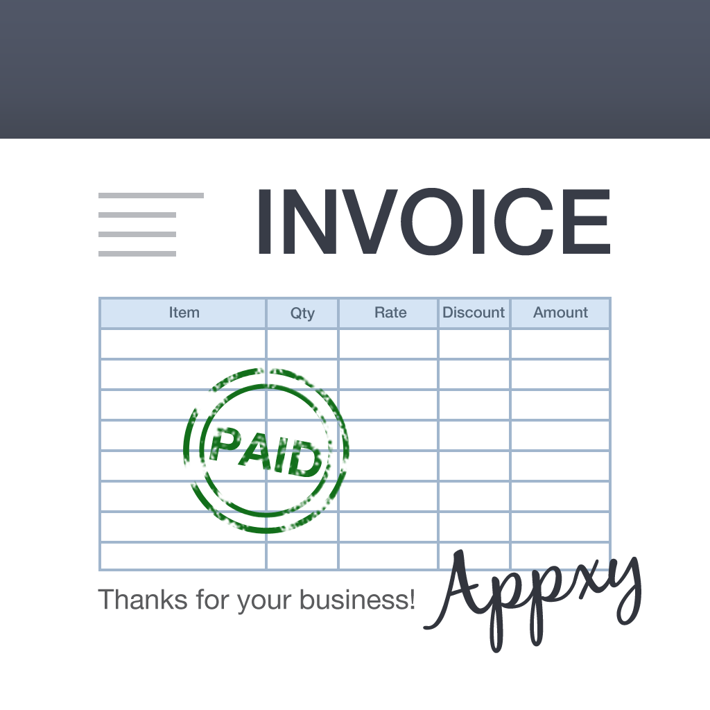 Turbo Invoice For IPad Revenue Download Estimates App Store US - Invoice program for ipad