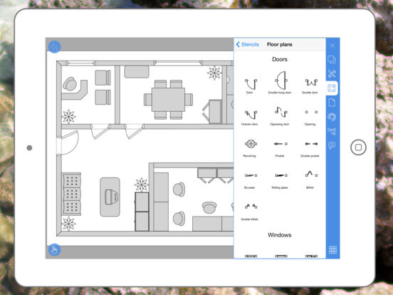 Floor Plan Drawing App For Android: Diagrams, Flow Charts And Floor Plans Maker