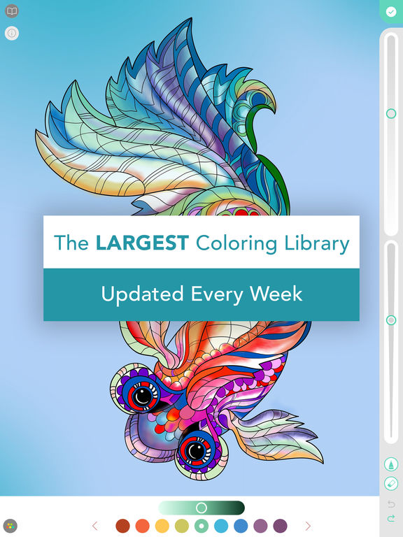 Pigment - Coloring Book for Adults Screenshot