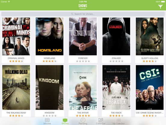 TVSofa 2 - Track your favorite shows and movies Screenshot