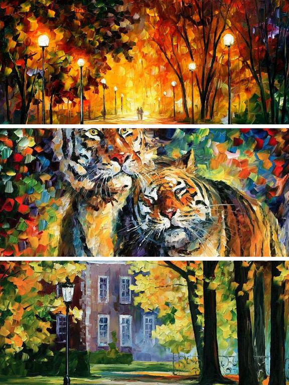 App Shopper Oil Paintings Wallpapers Hd Landscape