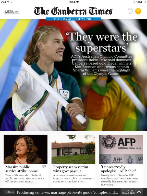 canberra times - photo #43