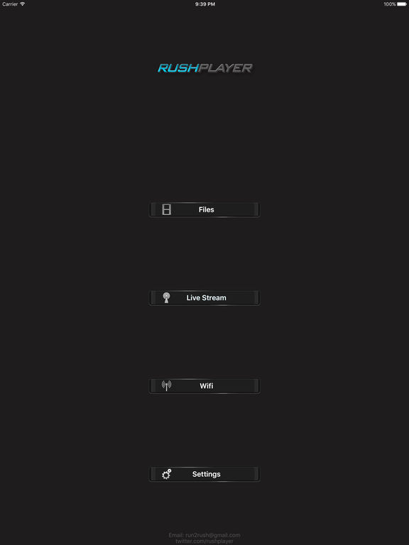RushPlayer Screenshots