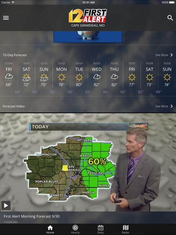 KFVS12 StormTeam Weather - appPicker