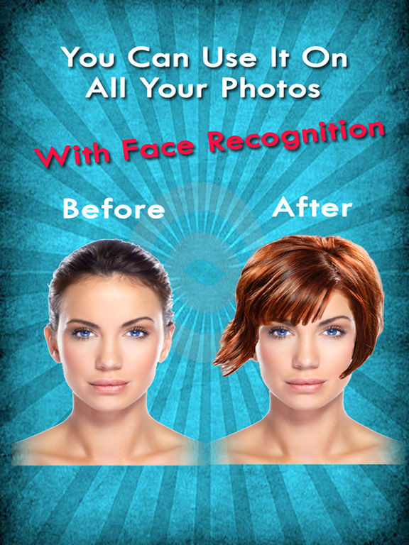 Excellent Your Perfect Hairstyle Try On New Look In Seconds On The App Store Short Hairstyles Gunalazisus