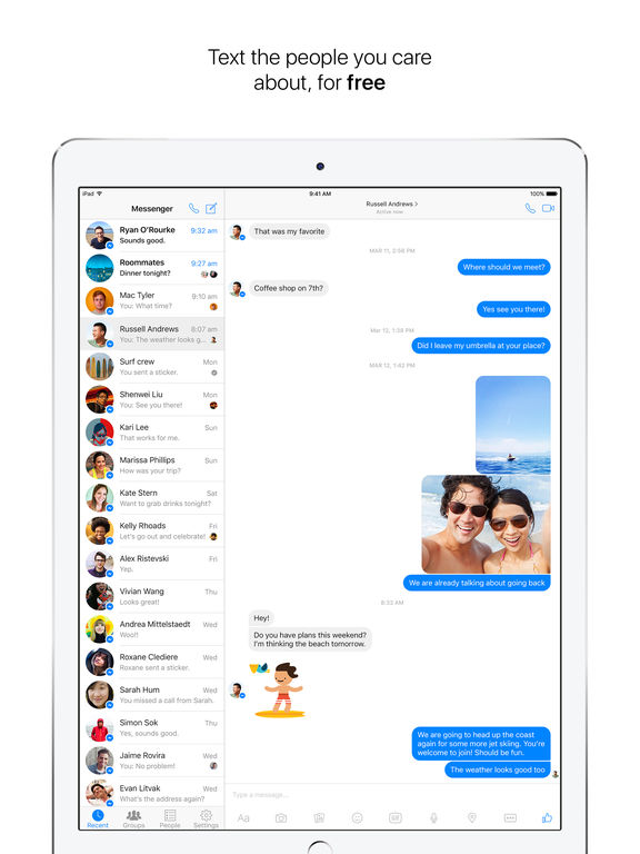 how to delete conversation on facebook messenger on iphone 7 plus