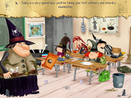 The Little Witch at School Screenshots