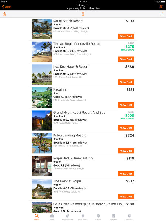 KAYAK Flights, Hotels & Cars Screenshots