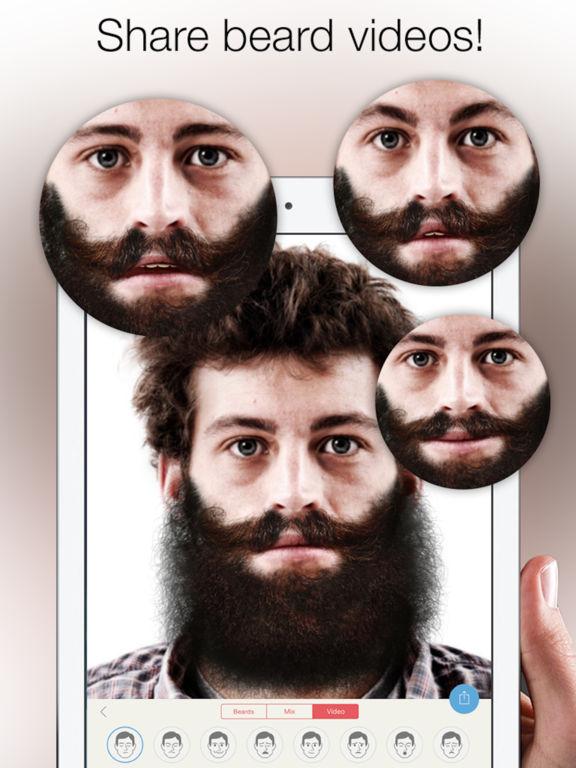 Astounding Beardify Beard Photo Booth On The App Store Short Hairstyles For Black Women Fulllsitofus