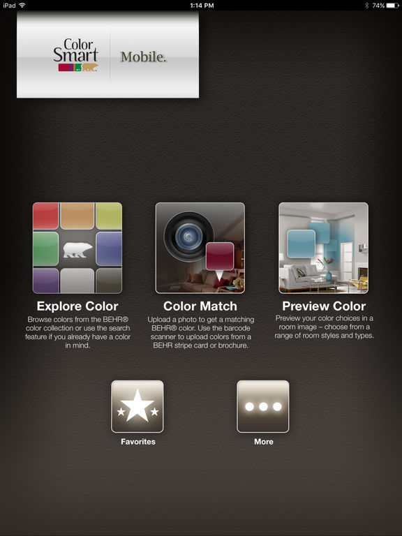 ColorSmart by BEHR® Mobile Screenshot