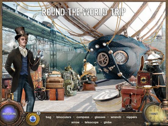 Around The World in 80 Days - Hidden Object Games IPA
