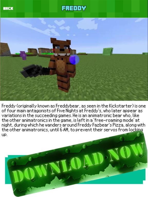 FNAF 5 MOD for Five Nights at Freddys Minecraft PC - AppRecs