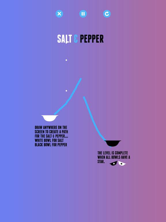 Salt & Pepper: A Physics Game Screenshots