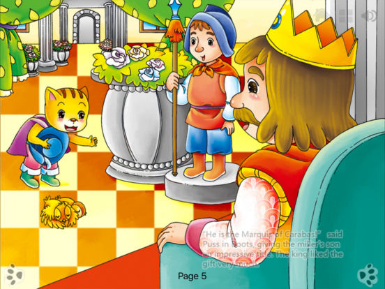 Puss in Boots  Bedtime Fairy Tale iBigToy Screenshots