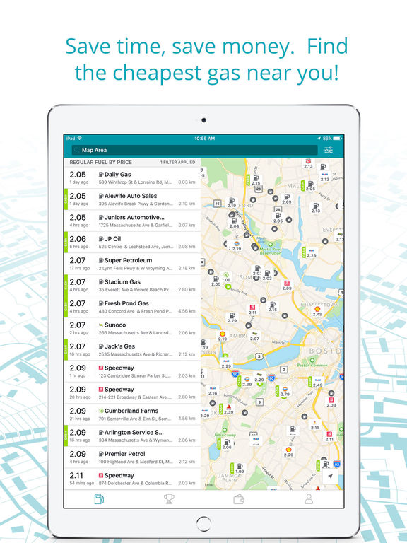 Cheap Gas Finder App >> The Best Ipad Apps For Finding Gas Apppicker