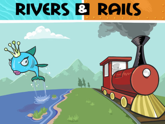 Rivers & Rails Screenshot