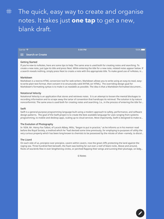 nvNotes - Note Taking & Writing App IPA Cracked for iOS Free Download