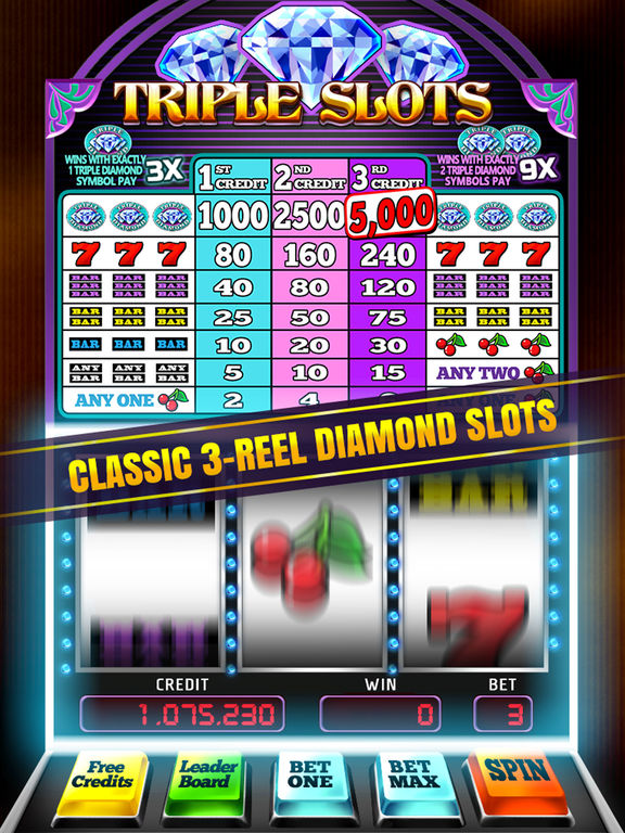 Triple Diamond Slot Machine Games