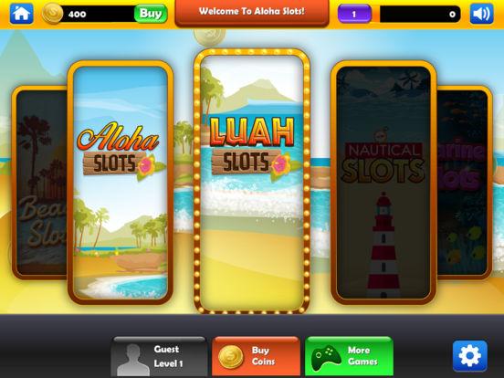 Slot machine aloha