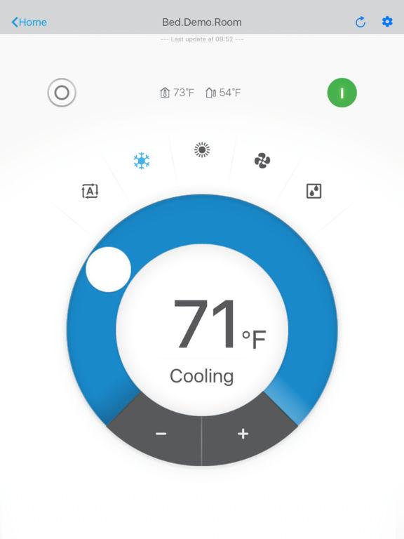 app shopper daikin comfort control lifestyle. Black Bedroom Furniture Sets. Home Design Ideas