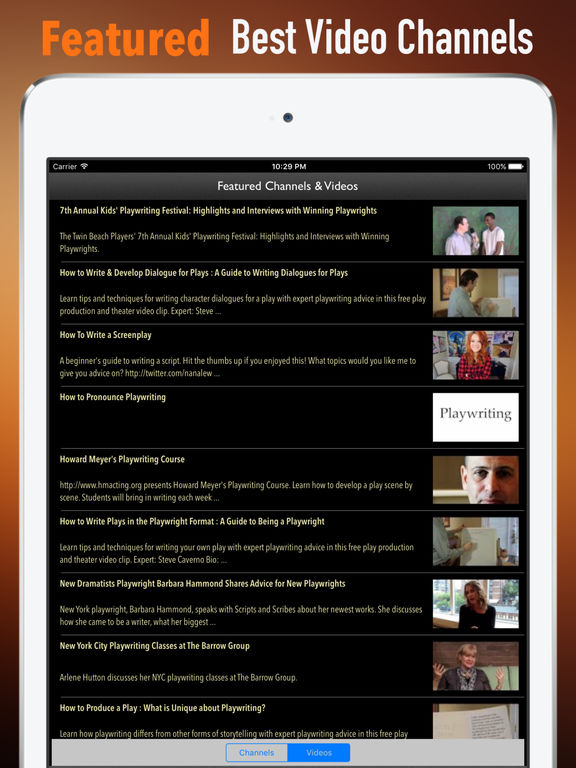 screen play writing app?