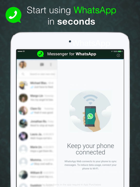 Whatsapp messenger free download for apple ipad