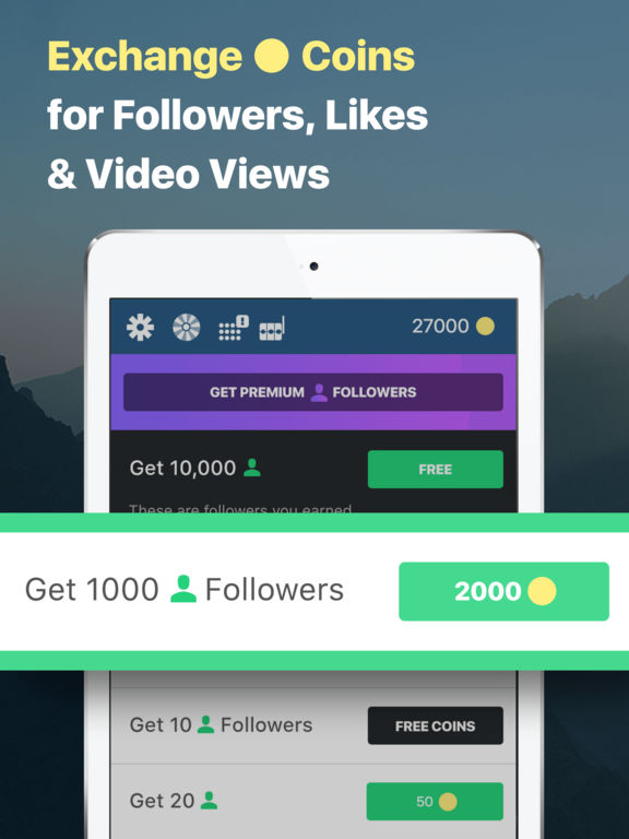 Followers for Instagram: get free followers, likes by One Wave AB