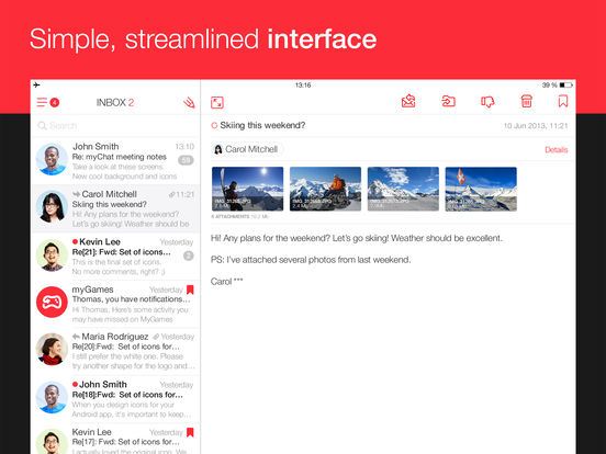 The best email apps for iPad - appPicker