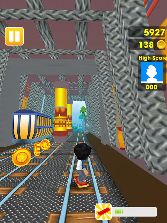 App Shopper: 3D Boys Train Surfers Tap Running Dash (Games