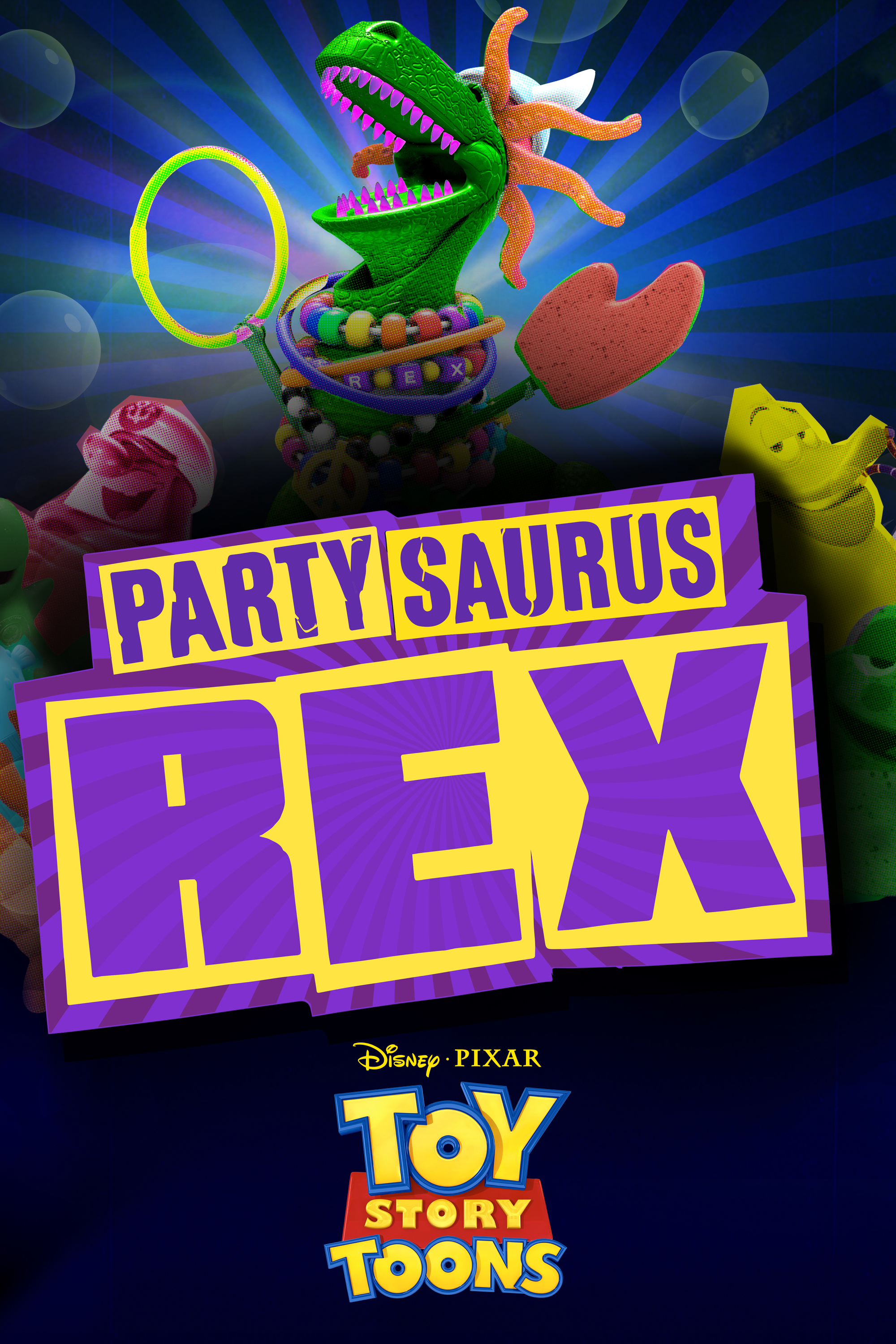 Itunes Movies Toy Story Toons Partysaurus Rex